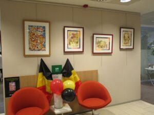 Exposition BNP Paribas Huy